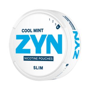 Woreczki nikotynowe Zyn Slim Cool Mint Extra Strong