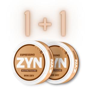 ZYN 1 + 1 !!!